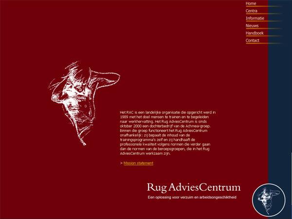 Website Rug Adviescentra b.v.